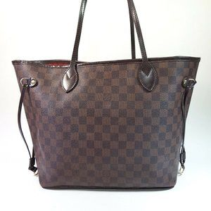 Auth Louis Vuitton Neverfull Mm Tote #7991L59